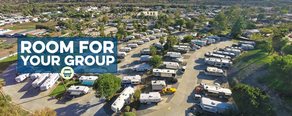 Groups and Rallies Welcomed at Oak Creek RV Resort