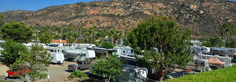 Oak Creek RV Site Amenities