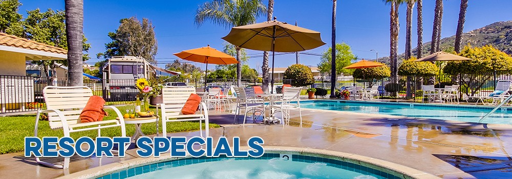 Oak Creek RV Specials