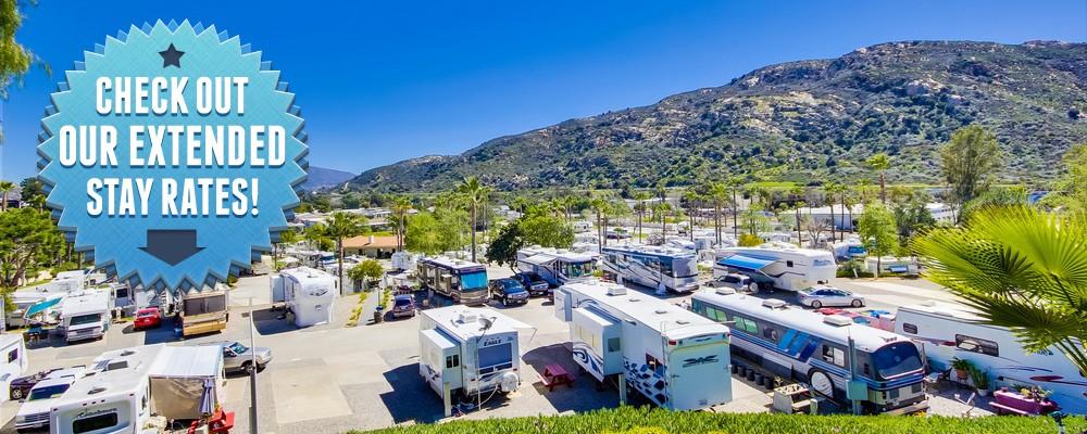 Oak Creek RV Resort Extended Stay in San Diego