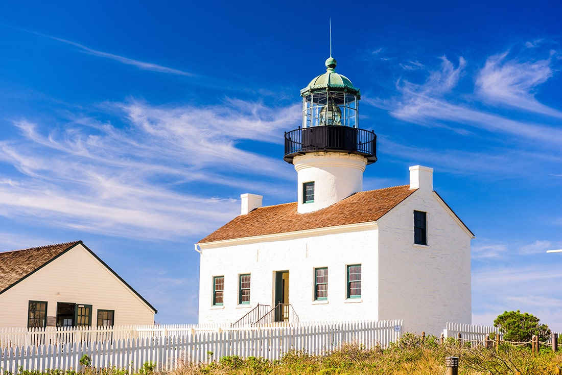 Old Loma Point Lighthouse