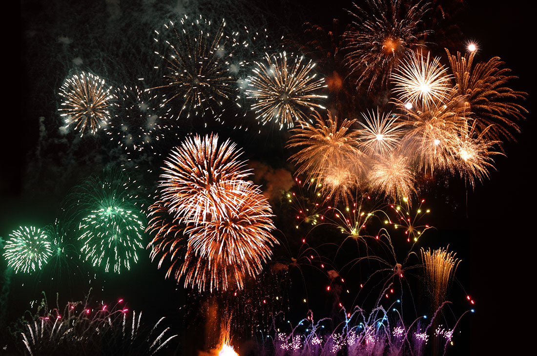 San Diego Firework show