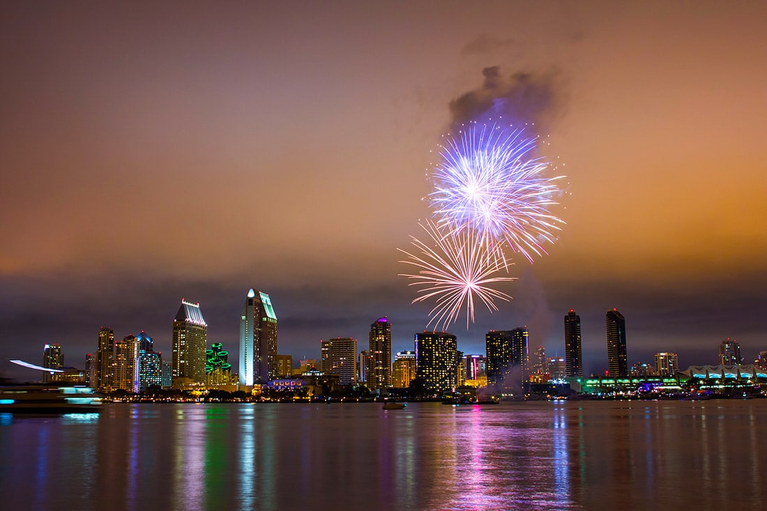 4th of July Fireworks in San Diego